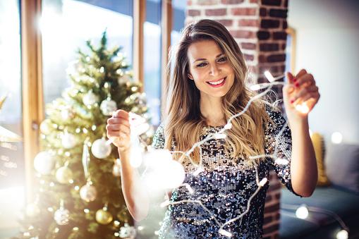 Christmas Is Nearly Here Stockfoto en meer beelden van 30-39 jaar