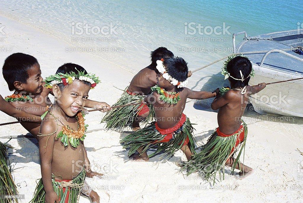 Christmas Island, Kiribati stock photo
