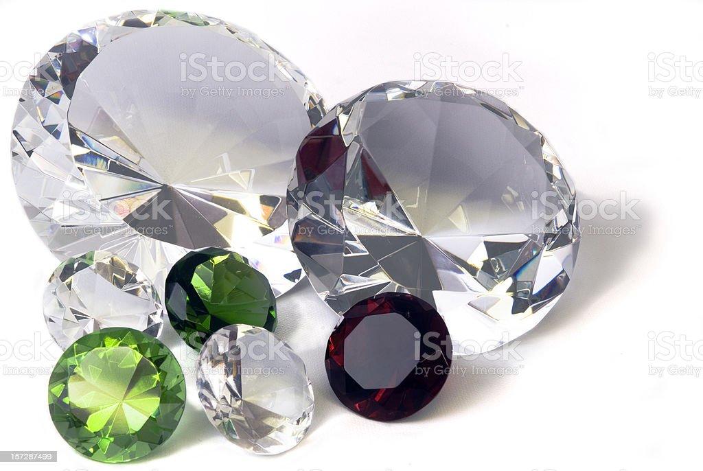 Christmas jewels royalty-free stock photo