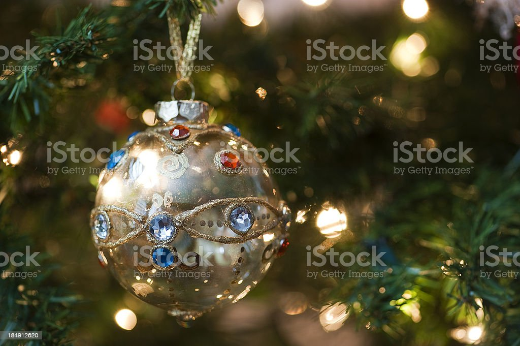 Christmas Jewels Series royalty-free stock photo