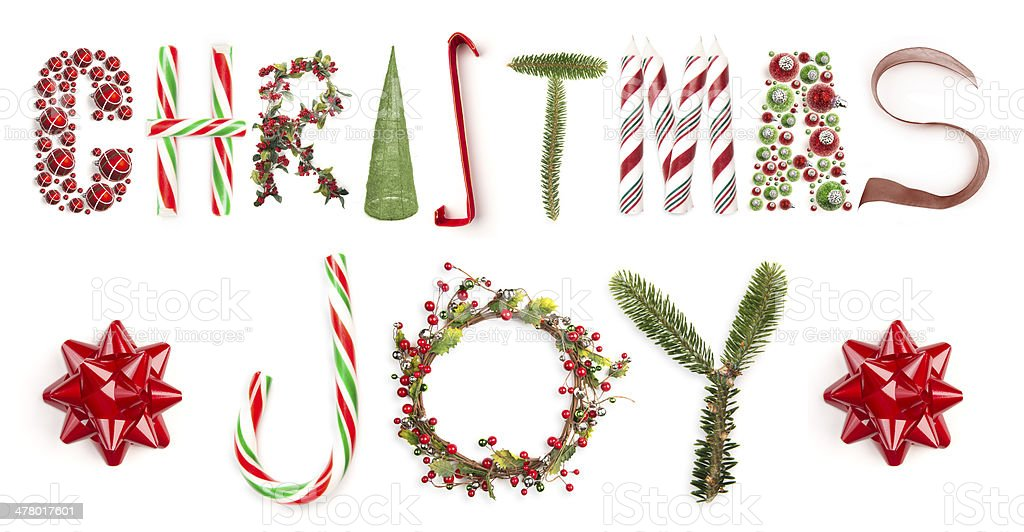Christmas Joy stock photo