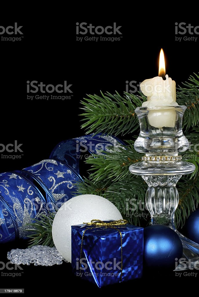 Christmas komposition royalty-free stock photo