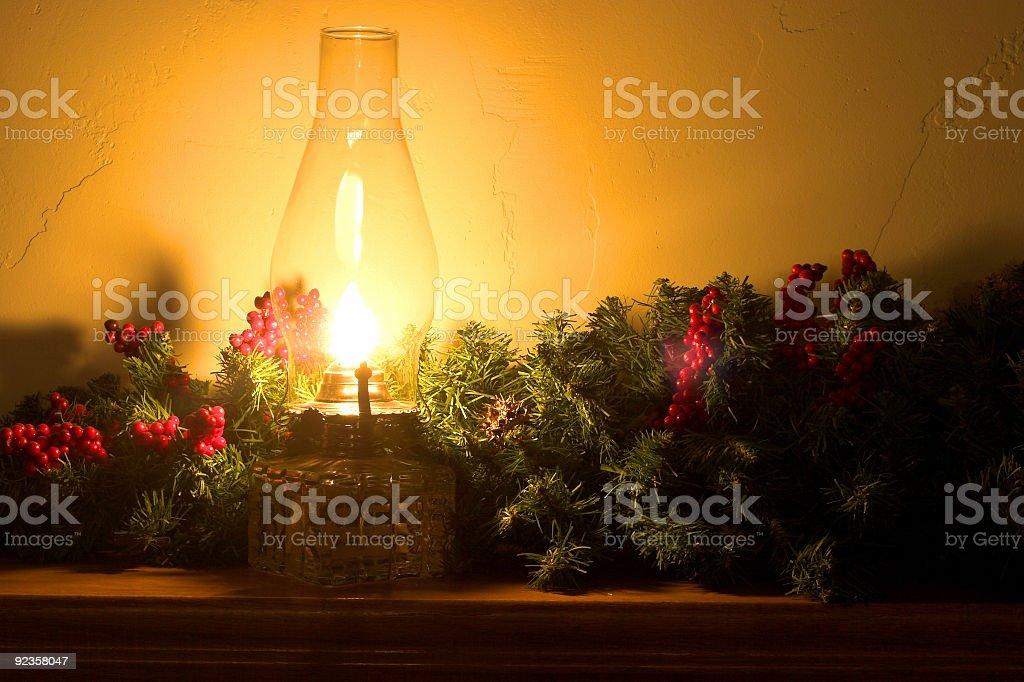 Christmas Lamp royalty-free stock photo
