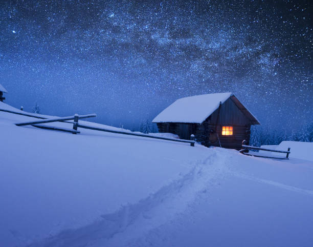 Christmas landscape with starry sky picture id1051432178?b=1&k=6&m=1051432178&s=612x612&w=0&h= vpwa5csnw6odanb0ipijmjq5 n1h 9k0vb13j2mxpk=
