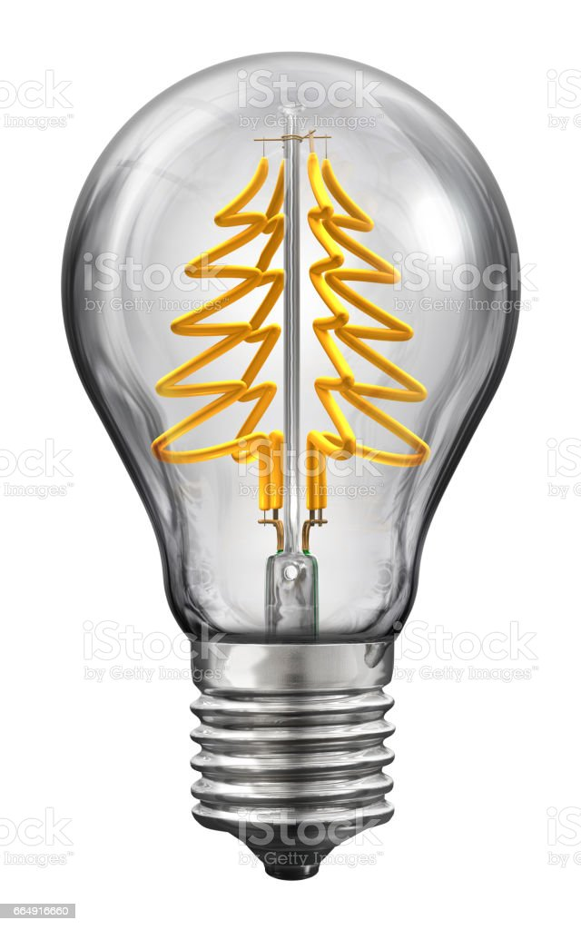 Christmas Led Lamp foto stock royalty-free