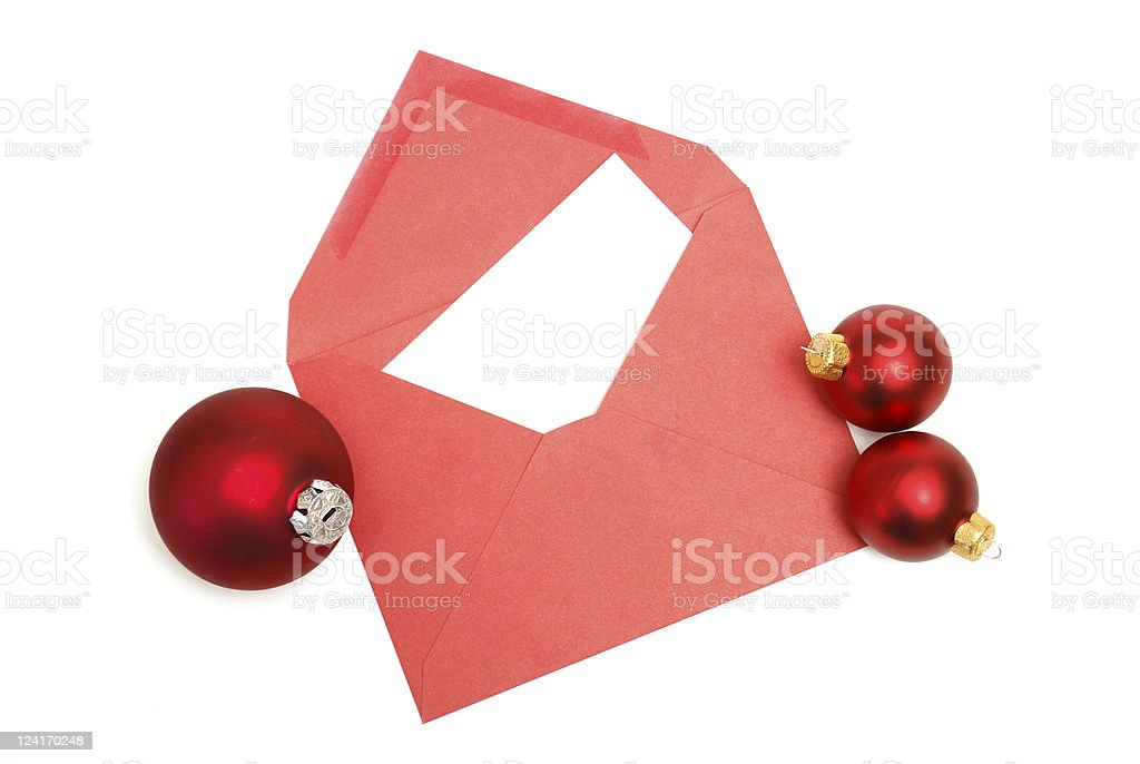 Christmas Letter royalty-free stock photo