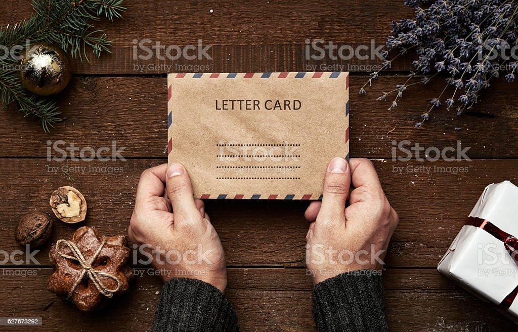 Weihnachten Brief – Foto