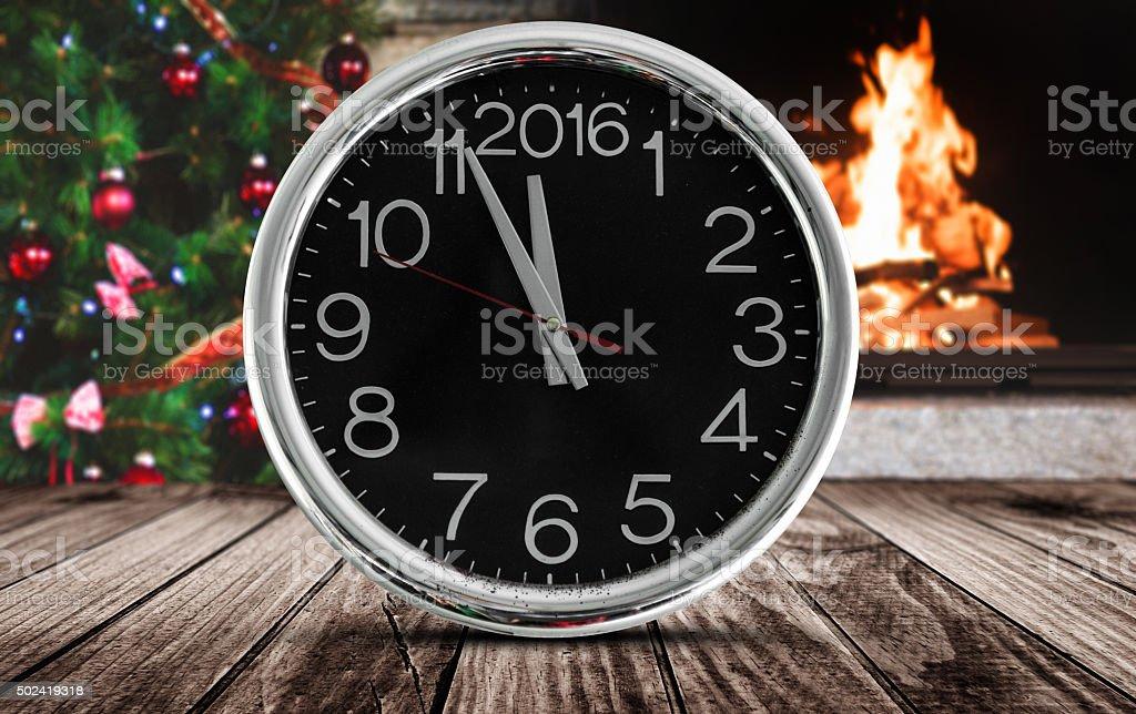 christmas light and 2016 countdown