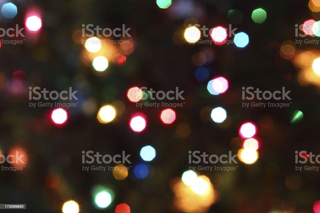 Christmas Light Background royalty-free stock photo
