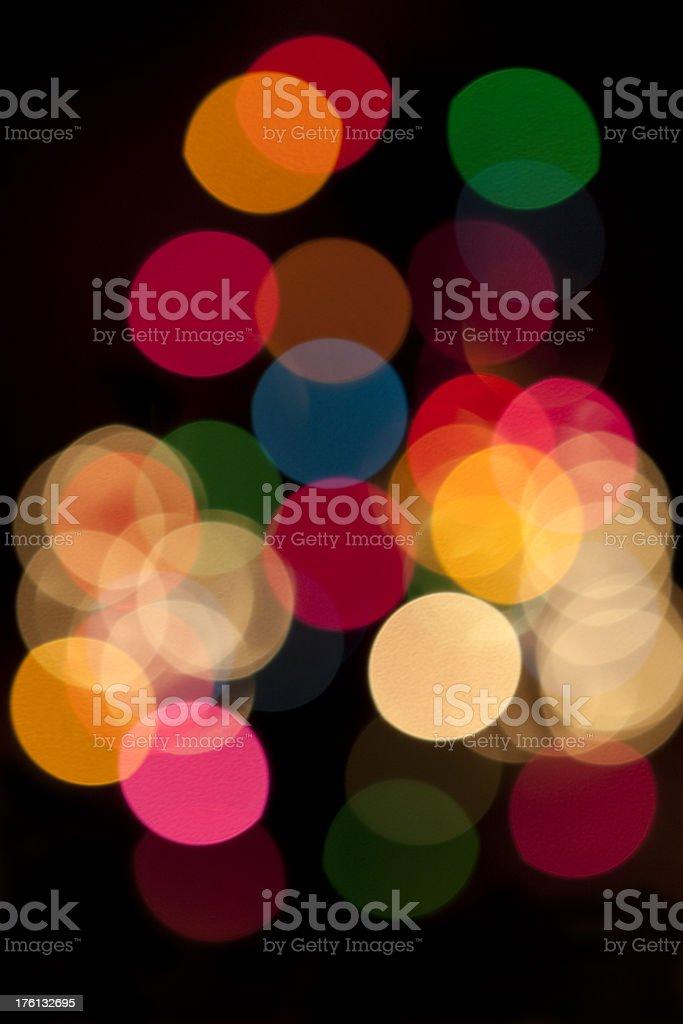 Christmas light stock photo