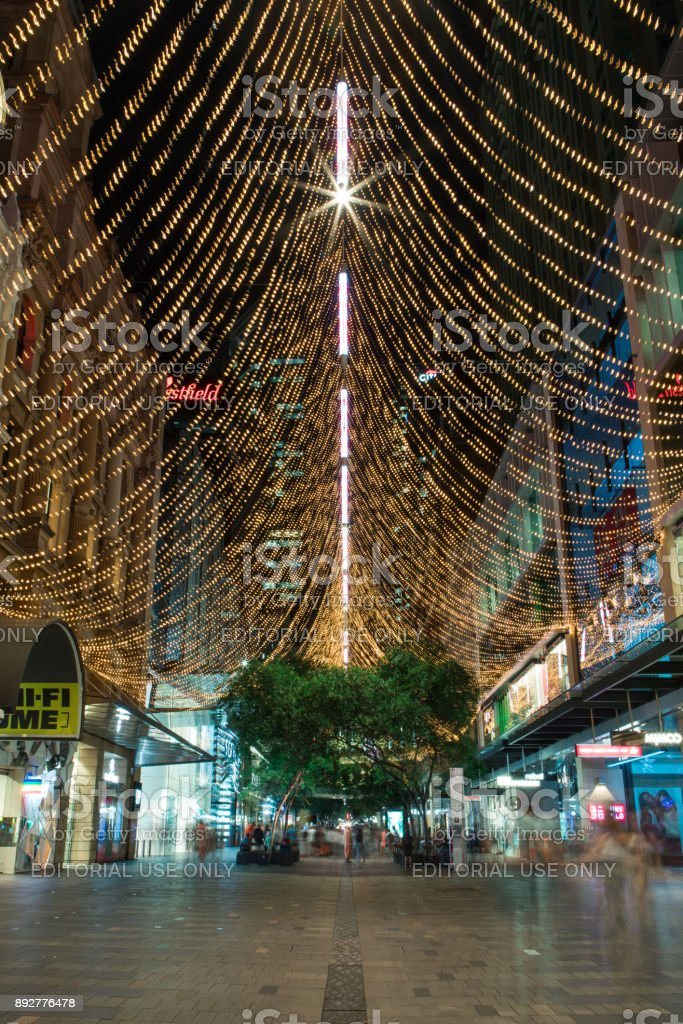 Christmas Light up stock photo