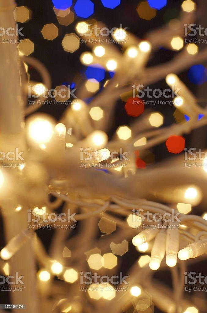Christmas lights - 2 royalty-free stock photo