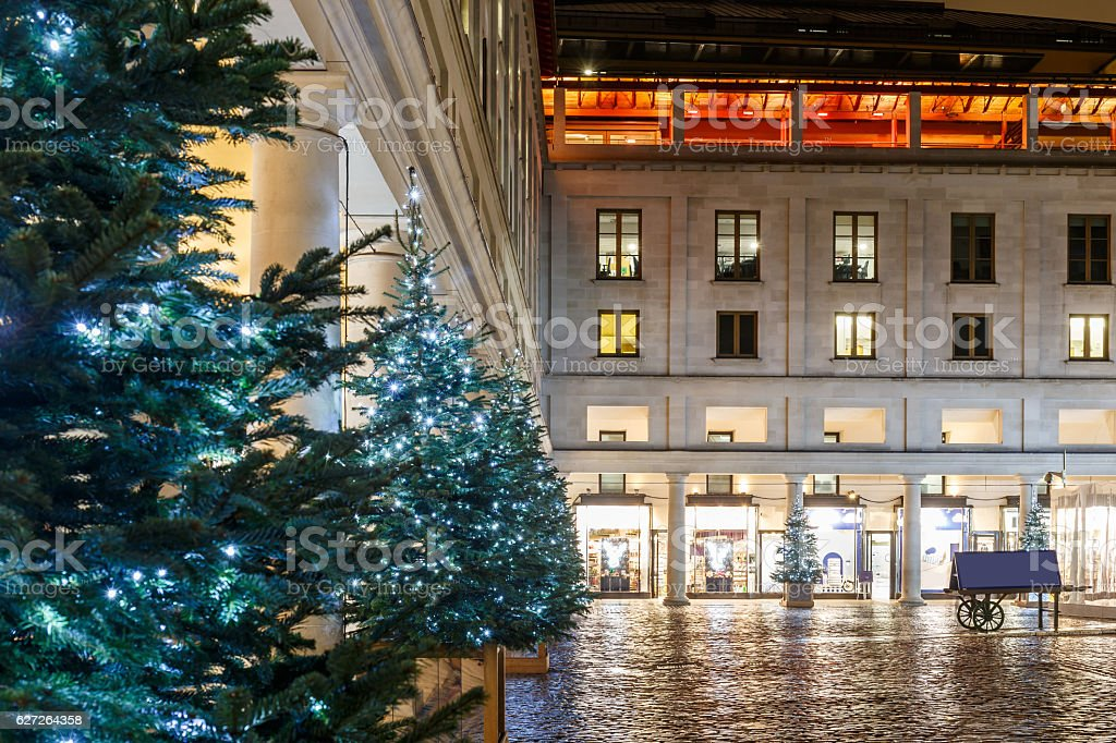 Christmas Lights 2016 In Covent Garden London Stock Photo Download Image Now Istock