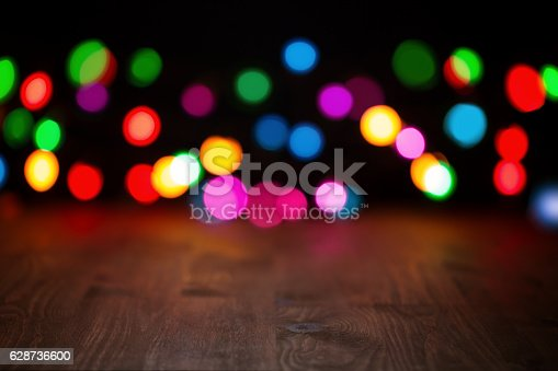 istock Christmas lights background 628736600