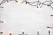 Christmas lights bulb decoration