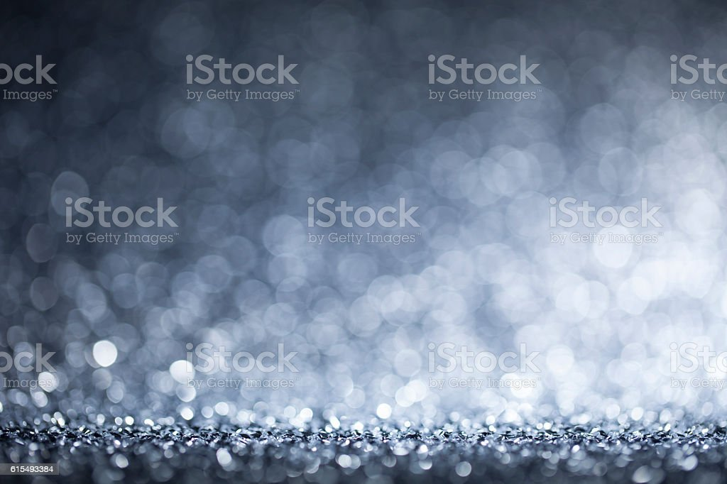 Christmas lights defocused background - Bokeh white - Photo