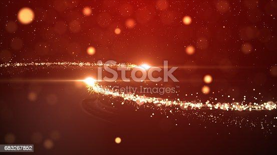 613518332 istock photo Christmas lights defocused background 683267852
