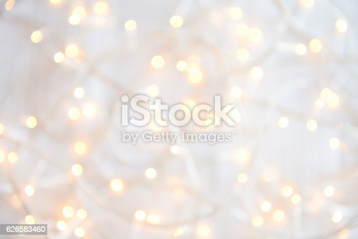 istock Christmas lights Defocused 626583460