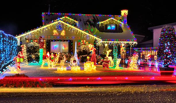 Christmas Lights Pictures Images And Stock Photos IStock - Christmas Light Design