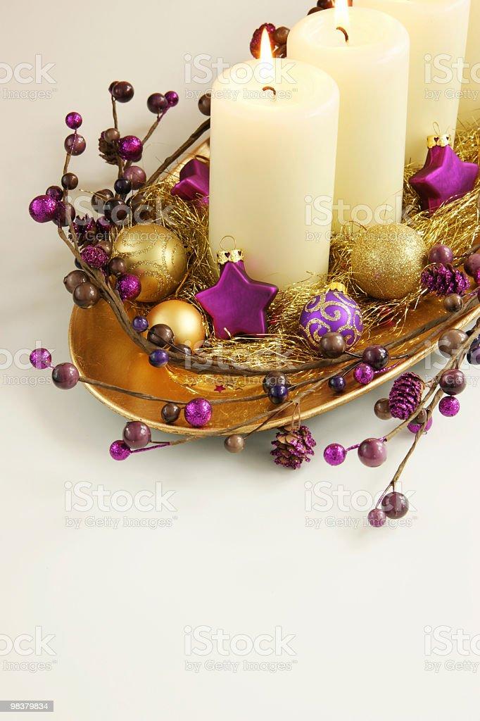 Luci di Natale foto stock royalty-free