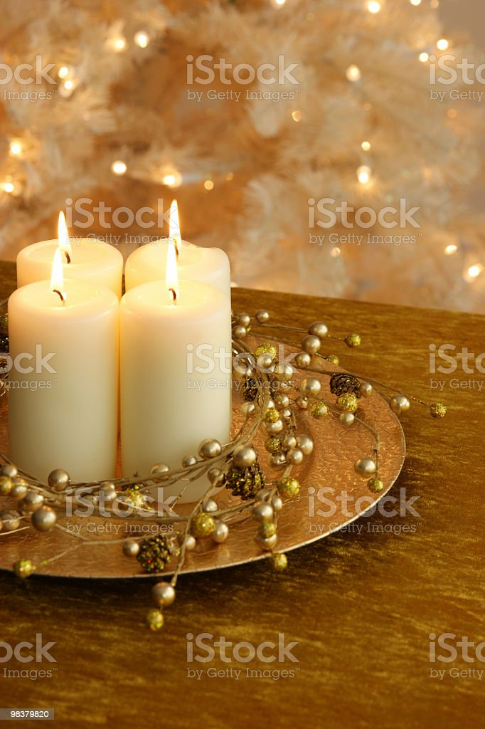Christmas Lights Series royalty-free stock photo
