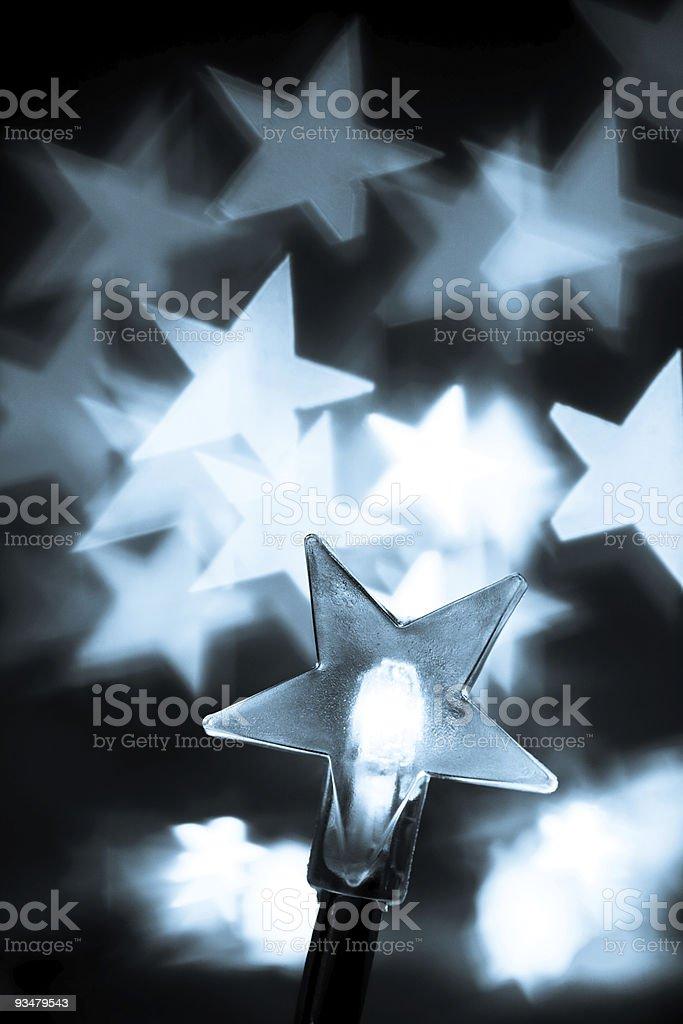 크리스마스 조명 착색 - 로열티 프리 0명 스톡 사진