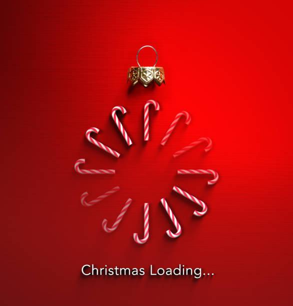 聖誕裝-糖果手杖擺設形狀和下載 - 裝貨 個照片及圖片檔