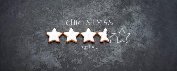 Weihnachten laden - Cookie Urlaub Blackboard Metall rot Spaß Humor – Foto