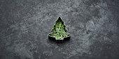 Christmas loading - Tree Holiday Blackboard Metal Gold Glitter Fun Humor