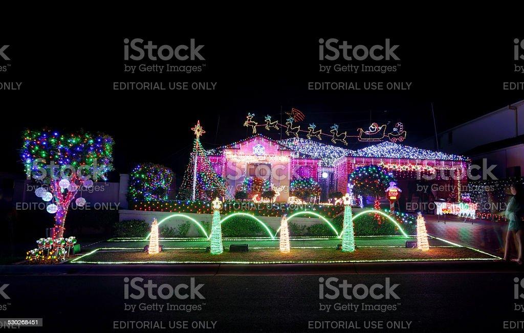 Christmas Magical Wonderland Home Coloured Led Lights