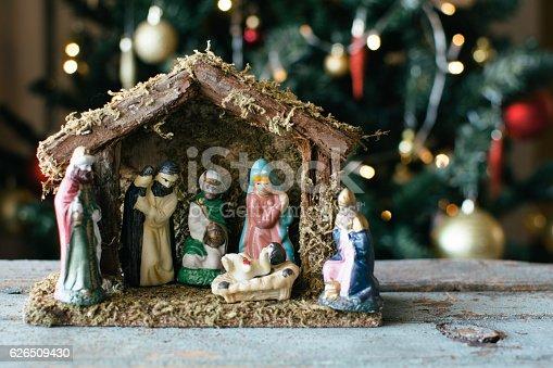 istock Christmas Manger scene 626509430