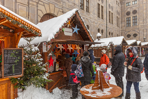 Christmas Market at the Residenz, Munich