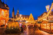 istock Christmas Market Goslar 478821816