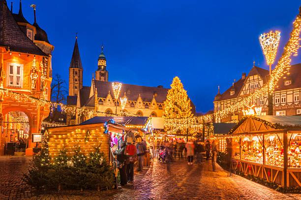 Christmas Market Goslar stock photo
