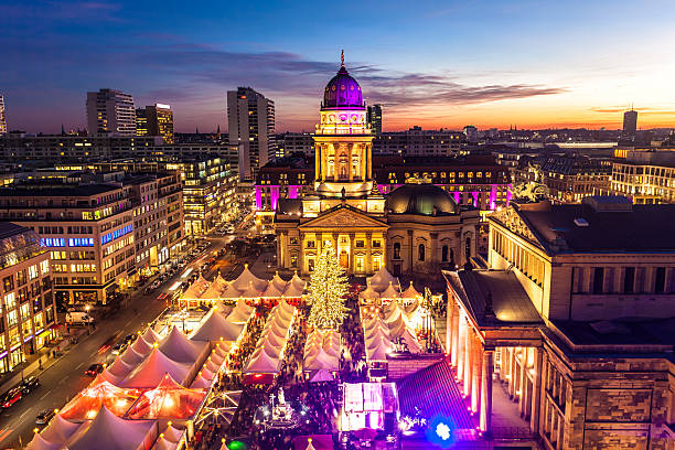 Christmas Market in Berlin Christmas Market in Berlin / Gendarmenmarkt gendarmenmarkt stock pictures, royalty-free photos & images