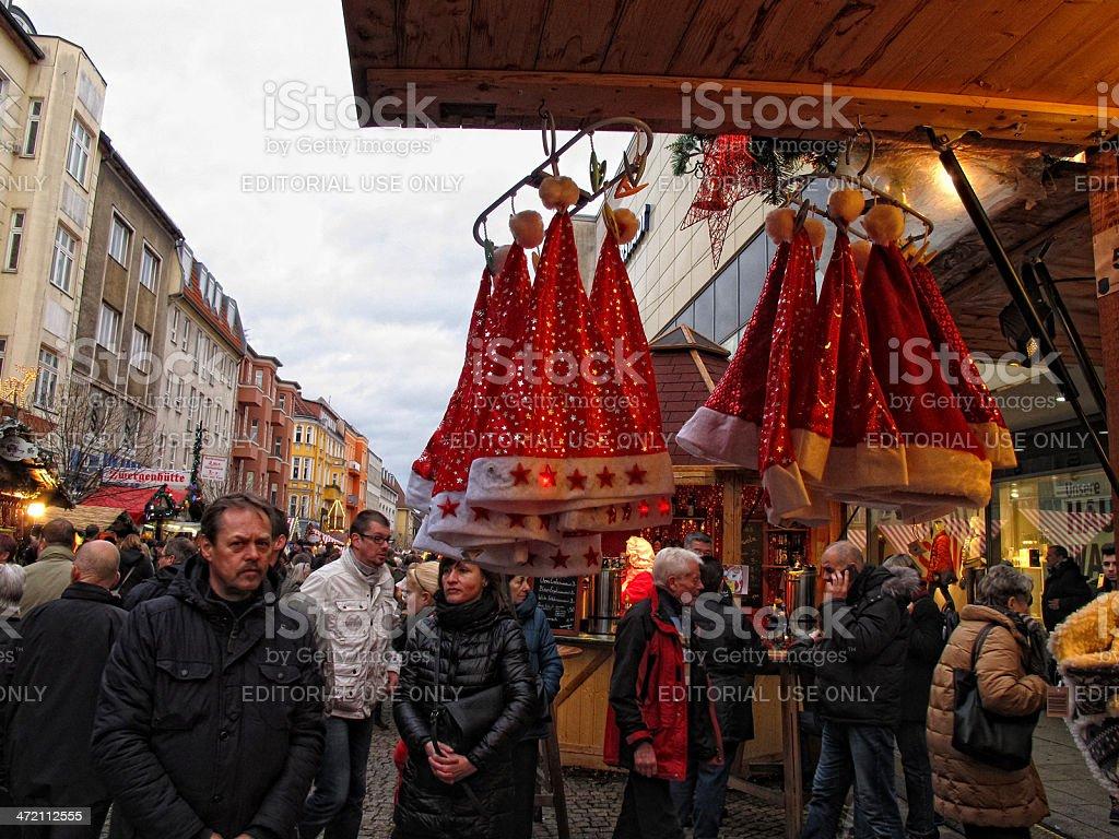 Christmas market in Berlin (Germany) stock photo