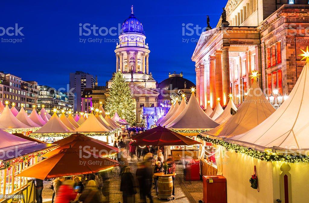 Christmas Market in Berlin stock photo