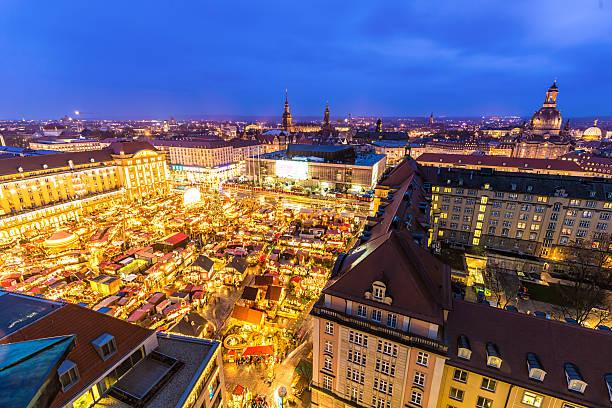 christmas market in dresden - rothenburg stockfoto's en -beelden