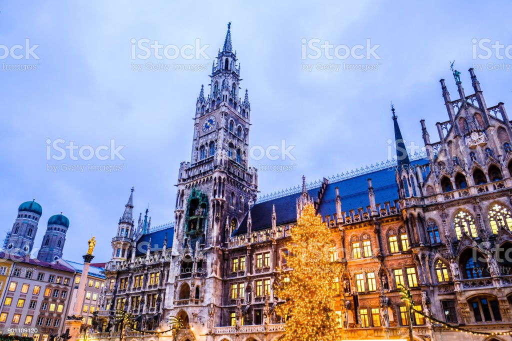 Christmas In Munich Germany.Christmas Market In Munich Germany Stock Photo Download