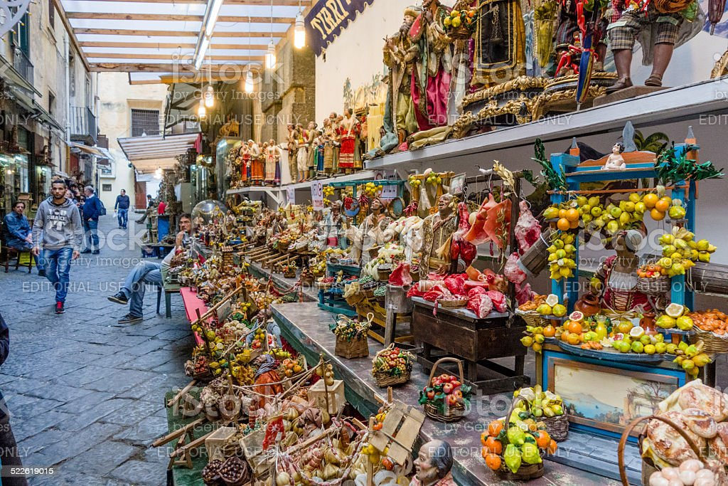Christmas market in naples italy stock photo istock for Craft stores naples fl