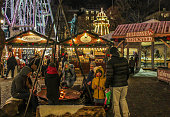 The Oslo Vinterland park is Christmas market with chalet-style food & craft stalls, a ferris wheel, ice rink & entertainment, warming places in downtown Oslo, just across the Parliament.