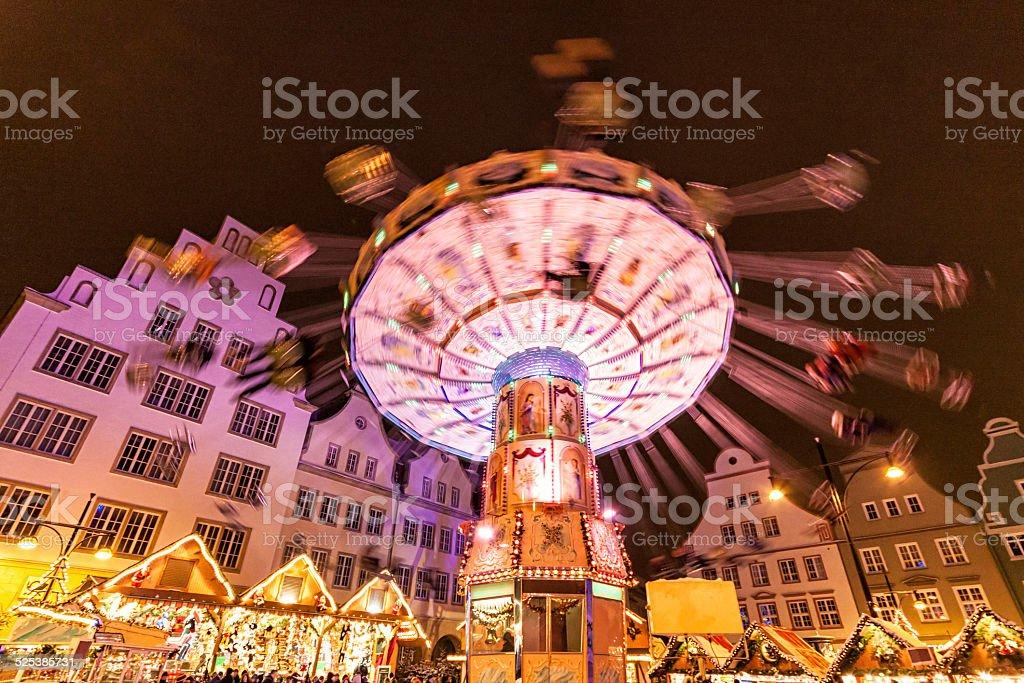 Weihnachtsmarkt in Rostock – Foto
