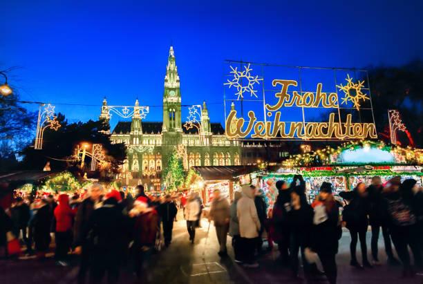 Weihnachtsmarkt in Wien – Foto