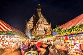 istock Christmas Market Nuremberg (Nuremberg Christkindlesmarkt) 497340511
