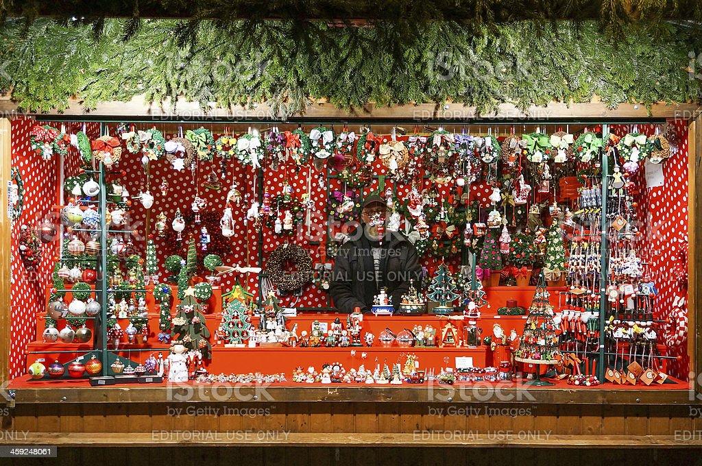 Christmas market royalty-free stock photo