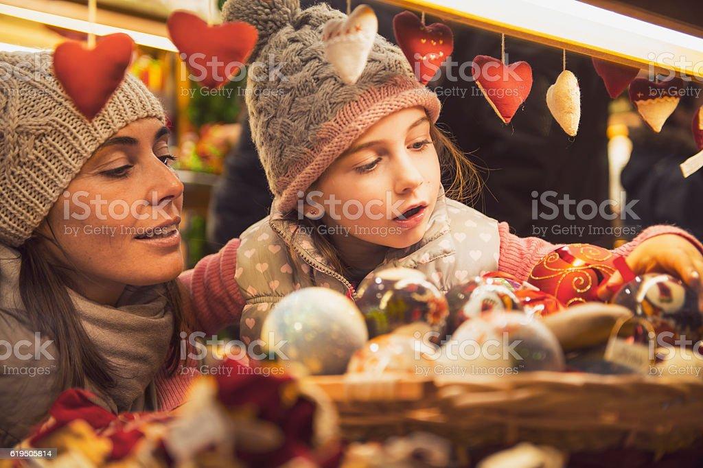 Christmas market - vintage look – Foto