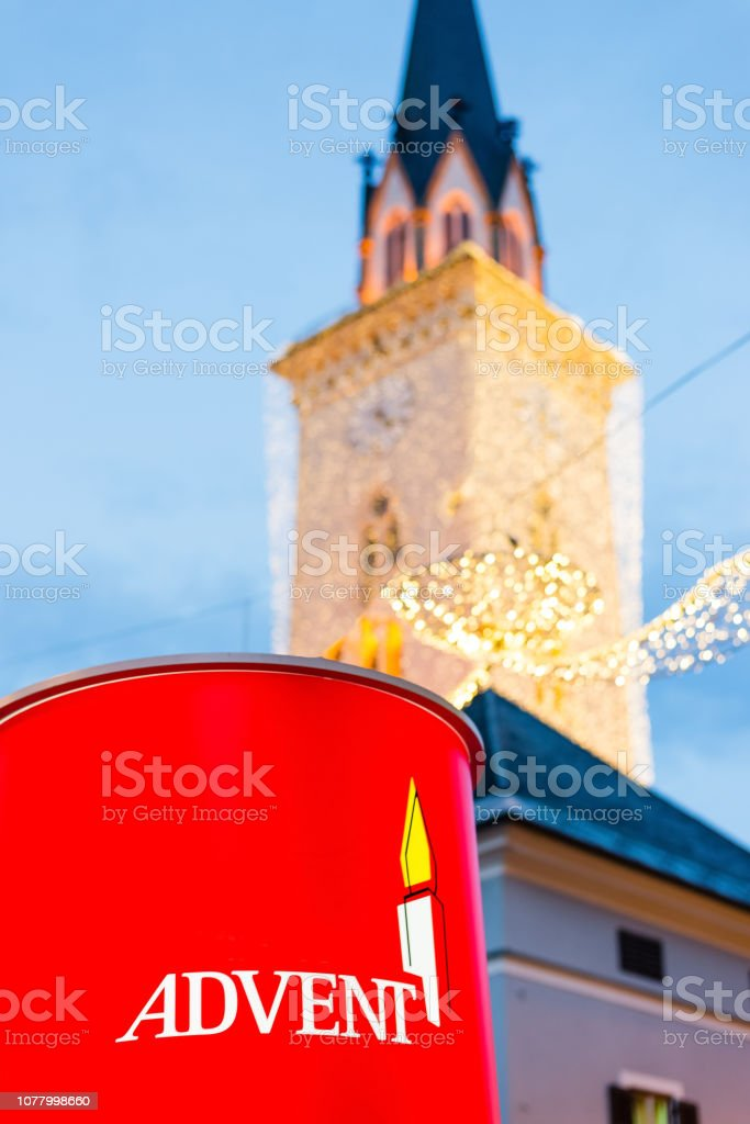 Picture of an european Christmas Market.