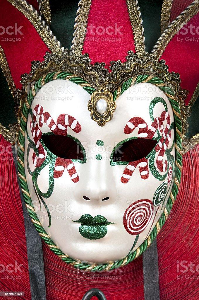 Christmas Masquerade royalty-free stock photo