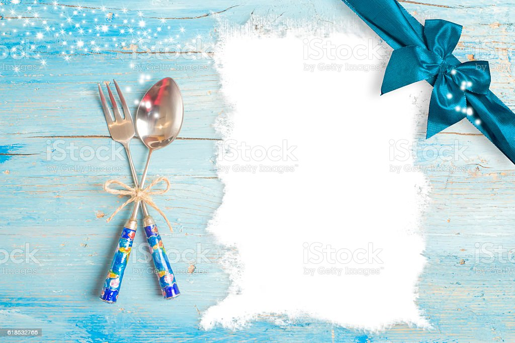 Christmas menu editable background stock photo
