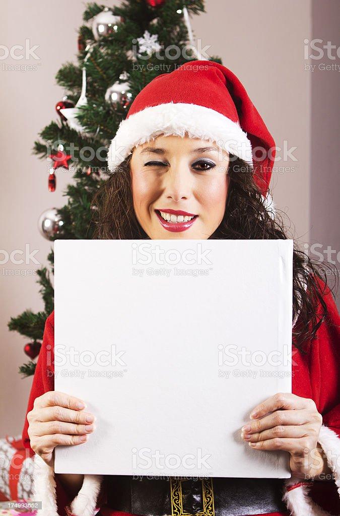 Christmas Message royalty-free stock photo